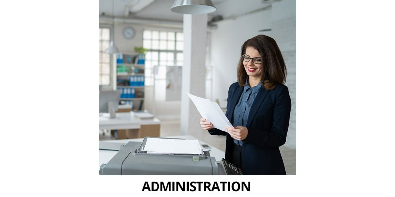 PRINTER & MANAGED DOCUMENT SOLUTIONS FOR ADMINISTRATION