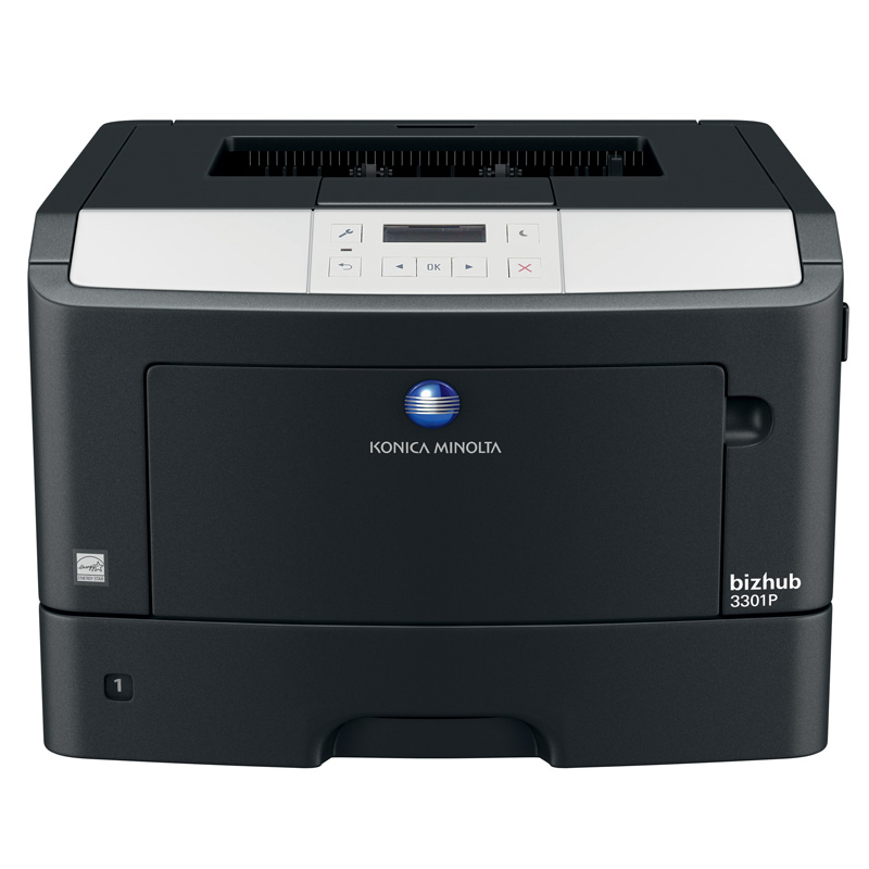 KONICA MINOLTA BIZHUB 3301P MONO MULTIFUNCTION PRINTER