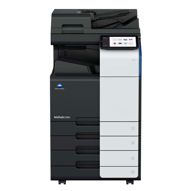 KONICA MINOLTA BIZHUB C250i MULTIFUNCTION PRINTER