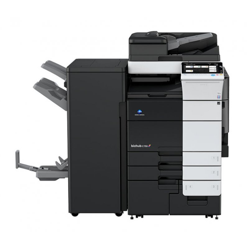 KONICA MINOLTA BIZHUB C759 75ppm COLOUR MULTIFUNCTION PRINTER