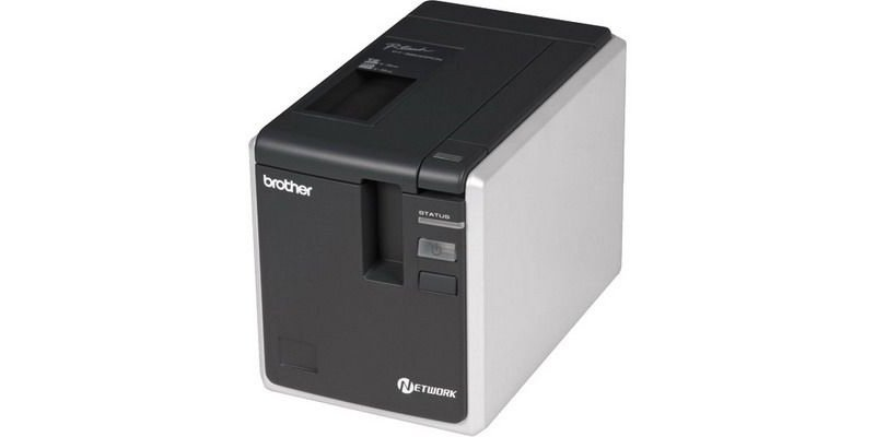 BROTHER PT-9800PCN ADVANCED NETWORK THERMAL LABEL AND BARCODE PRINTER