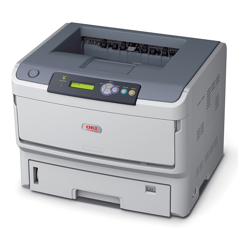 OKI B820N MONO LASER PRINTER A3 WITH NETWORK CARD