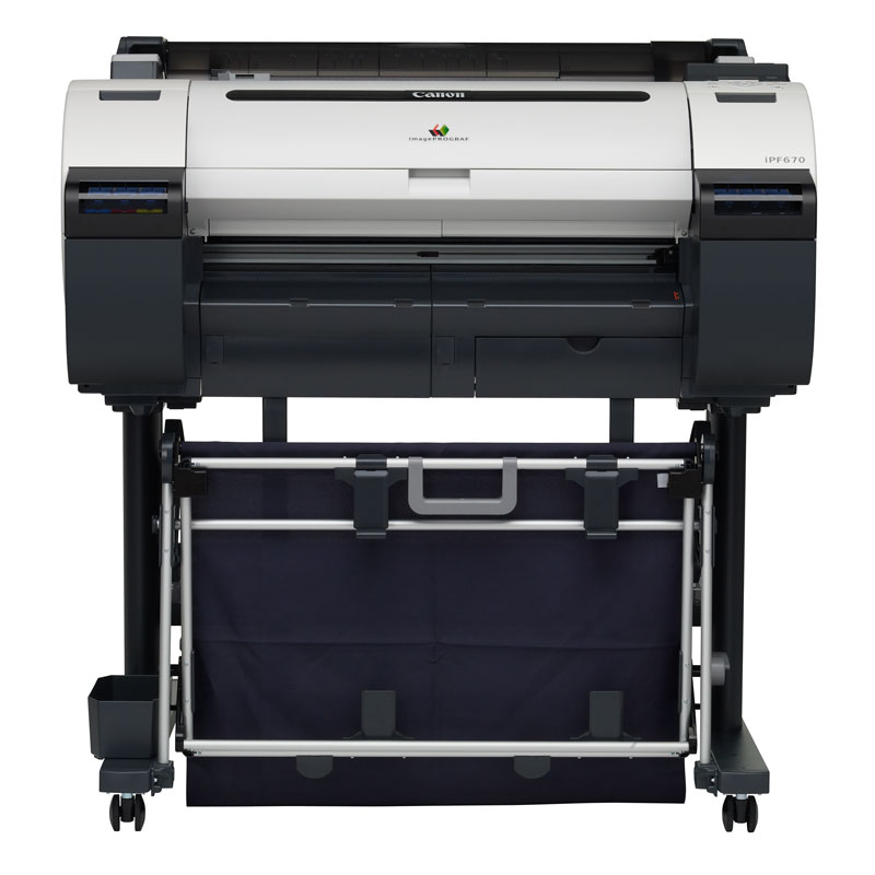CANON imagePROGRAF iPF670 MFP A1-24 inch