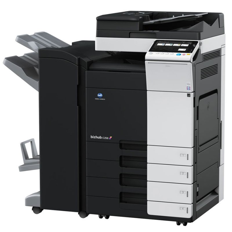 KONICA MINOLTA BIZHUB C258 25ppm COLOUR MULTIFUNCTION