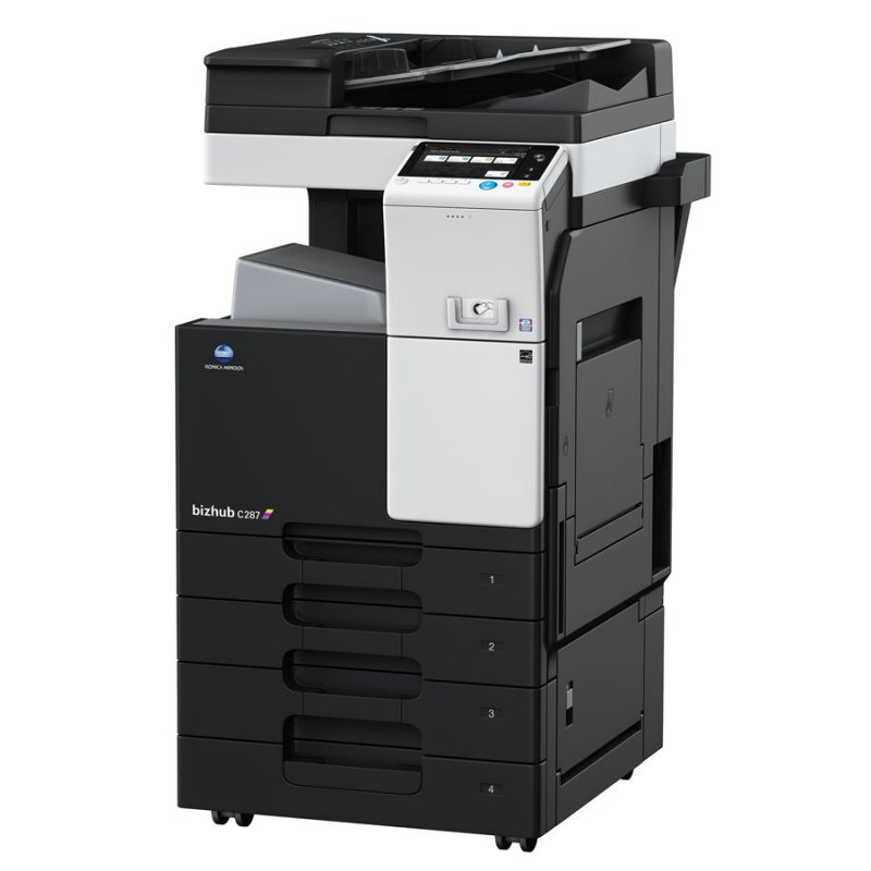 KONICA MINOLTA BIZHUB C287 28ppm COLOUR MULTIFUNCTION