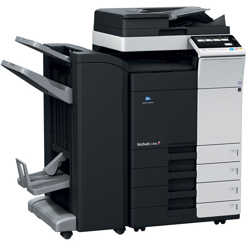 KONICA MINOLTA BIZHUB C308 30ppm COLOUR MULTIFUNCTION
