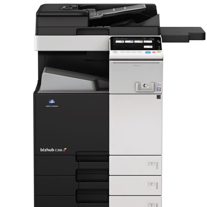 KONICA MINOLTA BIZHUB C368 36ppm COLOUR MULTIFUNCTION