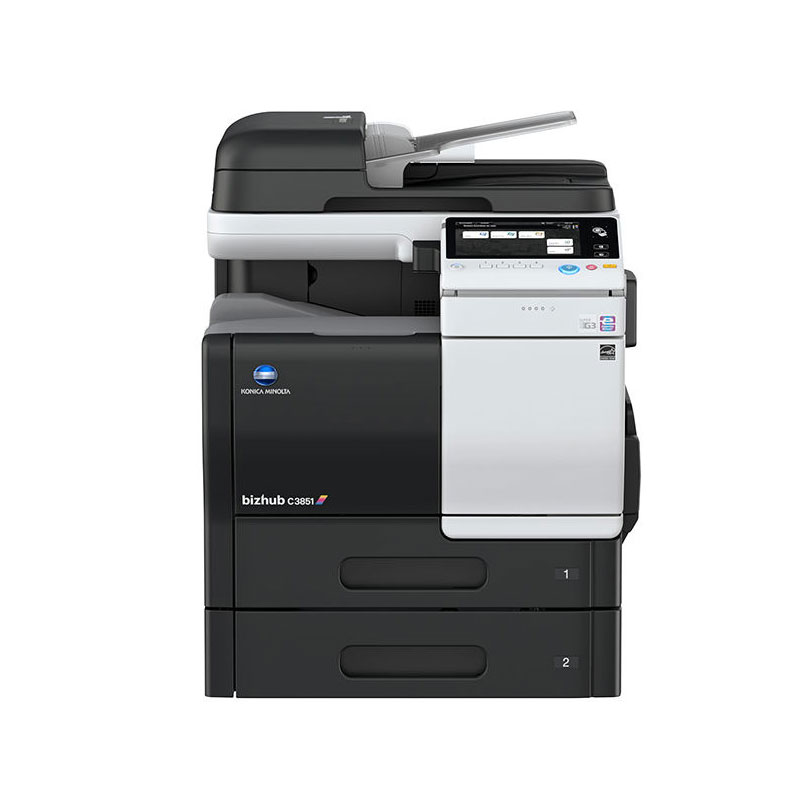 KONICA MINOLTA BIZHUB C3851 COLOUR MULTIFUNCTION 38PPM