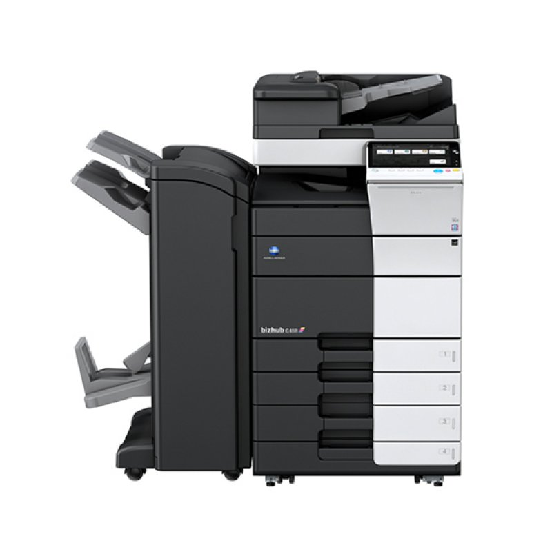 KONICA MINOLTA BIZHUB C458 45ppm COLOUR MULTIFUNCTION