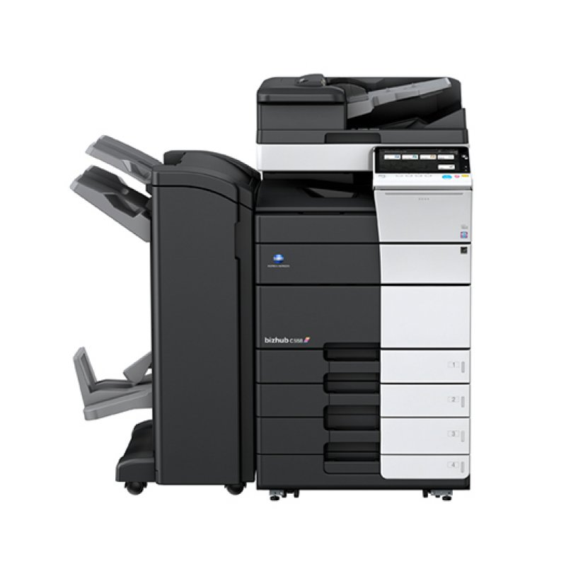 KONICA MINOLTA BIZHUB C558 55ppm COLOUR MULTIFUNCTION