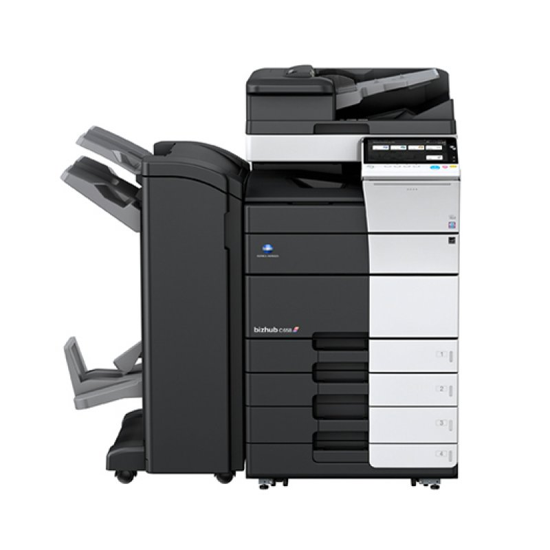 KONICA MINOLTA BIZHUB C658 65ppm COLOUR MULTIFUNCTION