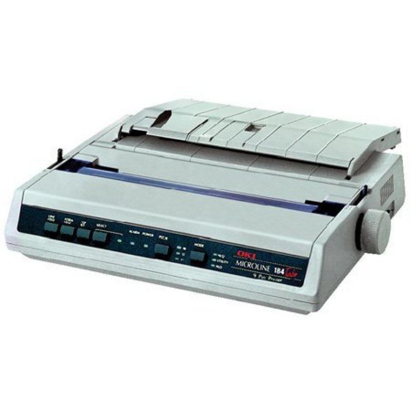 OKI 184 TURBO PLUS MICROLINE DOT MATRIX PRINTER