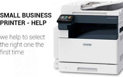 Small Business Printer Help